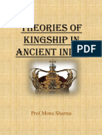 Theories of Kingship in Ancient India