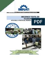 Mecanico Textil en Tejeduria Plana Xtpd