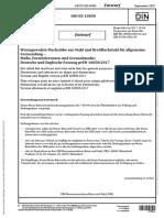 DIN EN 10058 - 2017(DRAFT)