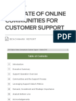 The State of Online Communities for Customer Support