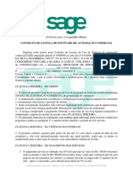 CONTRATO DE LICENÇA DE SOFTWARE DE AUTOMAÇÃO COMERCIAL