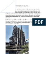 Report on Blast Furnace 3