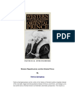 Western Republicanism and the Oriental Prince - Patricia Springborg