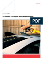 26 1998 01 Formulation Information Auto Care Applications(1)