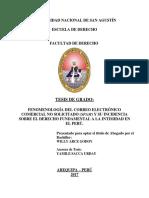 SPAM COMO VIOLACION A LA INTIMIDAD.pdf