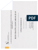 Certificado Ingles UPN PostGrado