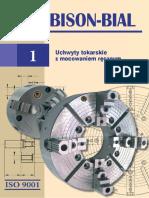 Katalog BISON Uchwyty Tokarskie