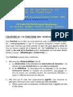 Javascript_tome_xxiii - Gestions de Paramètres Et Nom de Fonctions