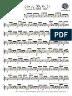 Etude Op. 35 Nr. 24 Fernando Sor