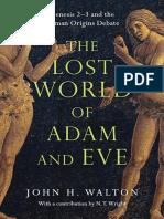 El Mundo Perdido de Ad n y Eva G Nesis 23 John H. Walton
