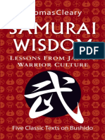 (Five Classic Texts on Bushido) Thomas Cleary-Samurai Wisdom_ Lessons From Japan's Warrior Culture-Tuttle Publishing (2009)