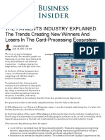 Payments Industry Explained - The Trends Creating New Winners and Losers in the Card-Processing Ecosystem