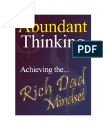 Abundant Thinking - Achieving the Rich Dad Mindset