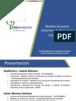 Modelo Actuarial Dinamico - Guillermo Suarez - Colpensiones.pdf