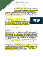 Analyse Des Tableaux Prof