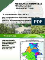 20180827 BPDAS Mahakam Implementasi Reklamasi Ppt Jakarta Agustus 2018