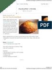 Bread - New York Times No-knead Bread