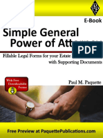 Simple General Power of Attorney