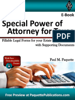 Special Power of Attorney for Taxes