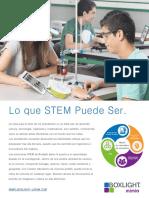 Brochure Lo Que STEM Puede Ser