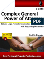 Complex General Power of Attorney