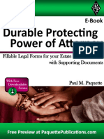 Durable Protecting Power of Attorney