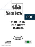 Ademco Vista 10 Installation Manual UK