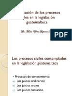 03 Los procesos civiles en la legislación guatemalteca..ppt