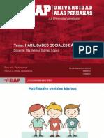 Semana 3 - Habilidades Sociales Básicas