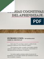 Teorias Cognitivas Del Aprendizaje Pwpt