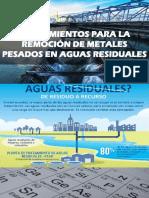 Tratamientos Para La Remoción de Metales Pesdados en Aguas Residuales