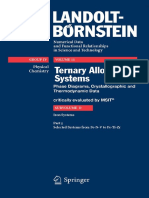 (Landolt-Börnstein - Group IV Physical Chemistry 11D5 _ Physical Chemistry) Günter Effenberg, Svitlana Ilyenko (Eds.)-Ternary Alloy Systems_ Phase Diagrams, Crystallographic and Thermodynamic Data Cri