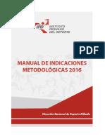 Manual de Indic Metodologicas 2016