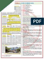 The Hindu Editorial 22-12-18