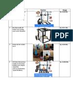 List Printer 3d