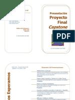 invitacion presentacion capstone 11 diciembre
