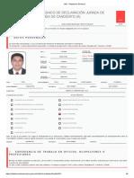 Hoja de Vida de Gastelo Huaman Chinchay