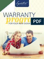 Warranty Program R1 10.23.27