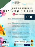 Programa Jornadas Complejidad y Deporte