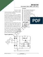 BP2833D Datasheet
