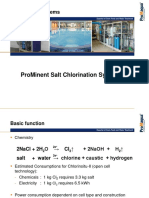 Prominent Salt Chlorination System