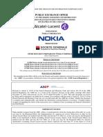 Nokia Offer Document English