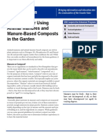 Guidelines for Using Animal Manures