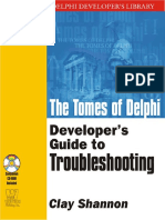 Dokumen.tips the Tomes of Delphi Developers Guide to Troubleshooting Wordware Delphi