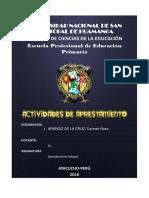 EL AULA Y PATIO DE RECREO EN EDUCACIÓN PRIMARIA