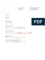 Ch.3 Formulas