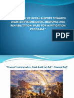 Resiliency of Roxas Airport