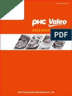 PHC VALEO Clutch Catalogue 2018-2019