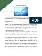 Info Kimia Edisi 1 Hal 1