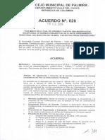 POT Acuerdo 028 2014